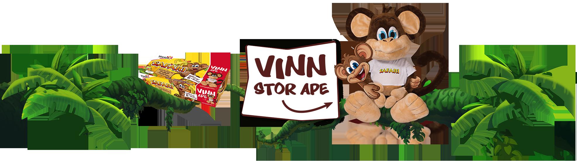 Vinn SAFARI-ape