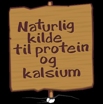 Naturlig kilde til protein og kalsium