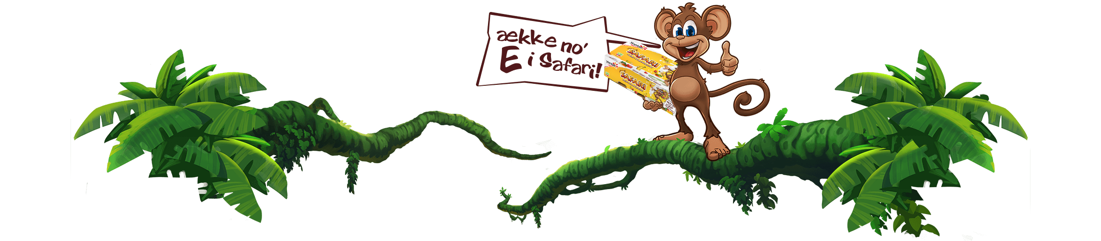 Safari-apen holde Safari-pakning