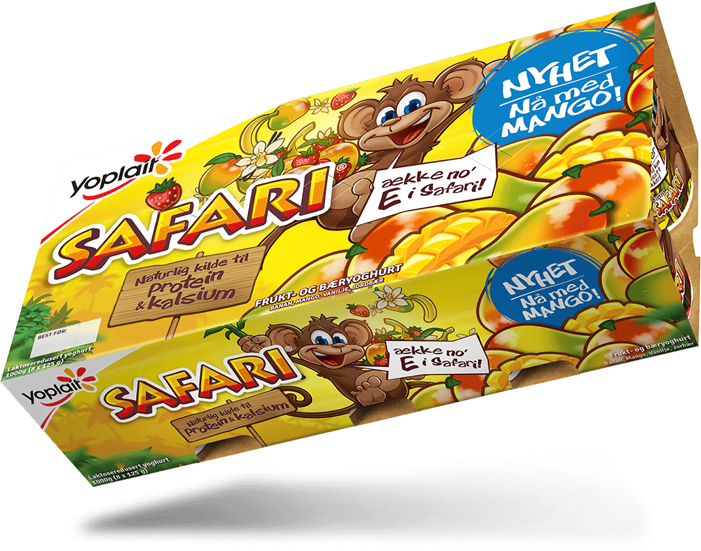 Safari Ape 8-pakning