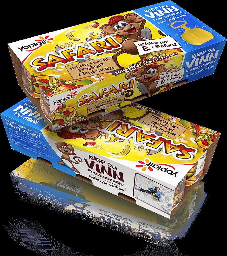 Safari 8-pakning