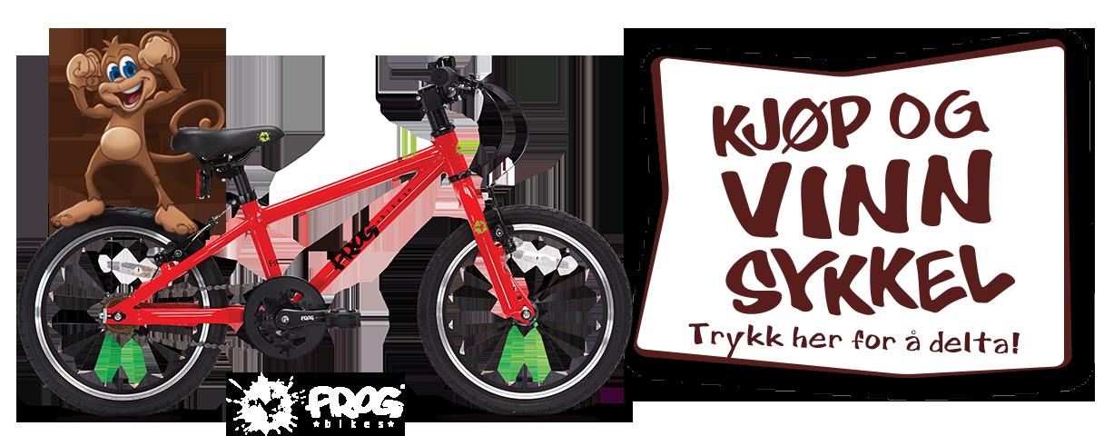 Kjøp og vinn sykkel